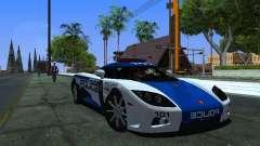 Koenigsegg CCX Police