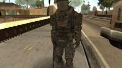Combate de soldados de CoD: Mw2