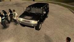 Sistema de alarme para carros para GTA San Andreas