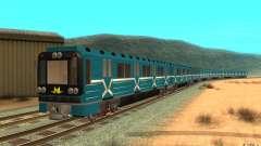 Metro type 81-717 para GTA San Andreas