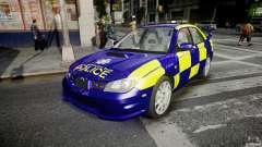 Subaru Impreza WRX Police [ELS]