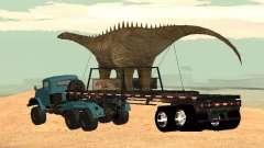 Trailer de dinossauro para GTA San Andreas