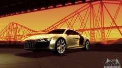 Audi R8 5.2 FSI Quattro para GTA San Andreas