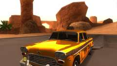 Checker Marathon Yellow CAB para GTA San Andreas