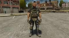 """Capitão John """"4"""" Mctavish para GTA 4"""