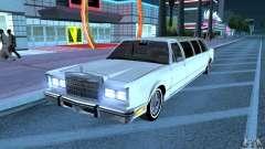 Lincoln Town Car 1986 Limo para GTA San Andreas