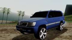 Toyota Land Cruiser 100 para GTA San Andreas