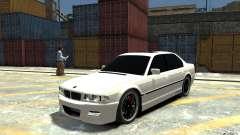 BMW 750i E38 HAMANN para GTA 4