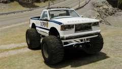 Policial Monster Truck ELS
