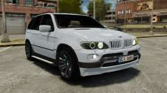 BMW X5 4.8IS BAKU para GTA 4