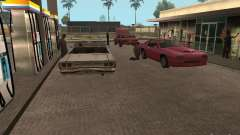 Espaço animado v 1.0 para GTA San Andreas