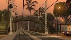 Linha ferroviária de alta velocidade para GTA San Andreas