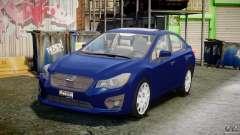 Subaru Impreza Sedan 2012