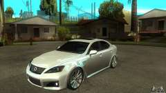 Lexus IS F 2009 para GTA San Andreas