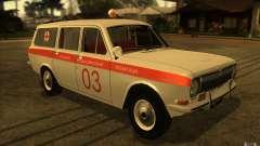Ambulância de Volga GAZ-24 03