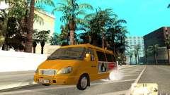 Gazela 32213 (Restajl) para GTA San Andreas