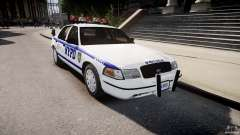 Ford Crown Victoria Police Department 2008 NYPD para GTA 4