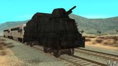 Trem blindado alemão do mundo segundo