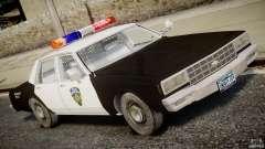 Chevrolet Impala Police 1983
