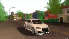 Mitsubishi Lancer EVO X drift Tune para GTA San Andreas