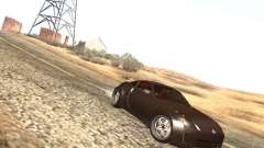 Nissan 350Z prata para GTA San Andreas