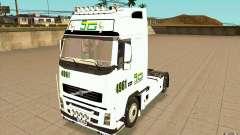 Volvo FH16 Globetrotter STG para GTA San Andreas