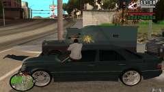 Atirar do carro no GTA 4 para GTA San Andreas
