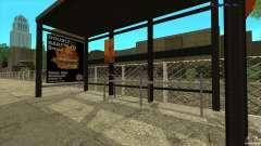 Paragens de autocarro em HD para GTA San Andreas