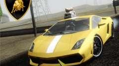 Lamborghini Gallardo LP640 Vallentino Balboni para GTA San Andreas