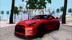 Nissan GTR 2011 Egoist (versão com sujeira) para GTA San Andreas