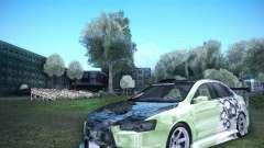 Mitsubishi Lancer Evolution X - Tuning para GTA San Andreas