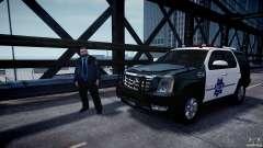 Cadillac Escalade Police V2.0 Final para GTA 4
