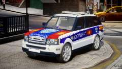 Range Rover Macedonian Police [ELS]