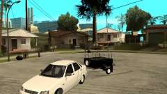 2170 LADA Priora luz tuning e reboque para GTA San Andreas