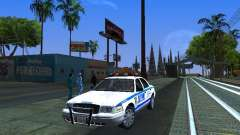 Ford Crown Victoria 2009 New York Police para GTA San Andreas