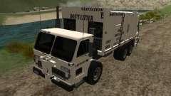 Caminhão de lixo do GTA 4