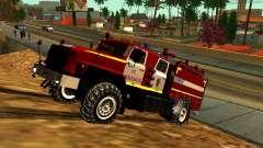 Fogo de Ural 5557-40 para GTA San Andreas
