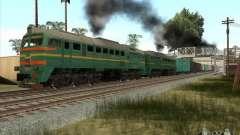 Estados bálticos locomotiva frete ferroviário im