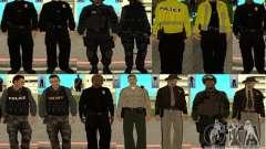 Pak peles LAPD para GTA San Andreas