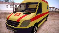 Mercedes Benz Sprinter Ambulance para GTA San Andreas