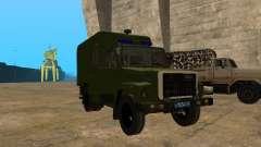 GAZ 3309 camburão