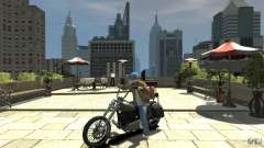 Zombie Bike Paintjob para GTA 4