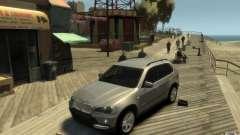 BMW X5 E70 Chrome para GTA 4
