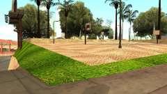 A nova quadra de basquete em Los Santos para GTA San Andreas