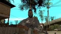 AK47 com a mira óptica padrão