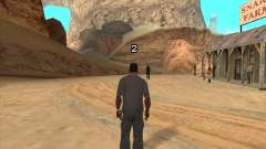 Cowboy duelo v 2.0 para GTA San Andreas