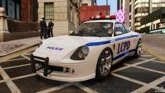 O cometa branco Polícia para GTA 4