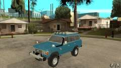 Toyota Land Cruiser para GTA San Andreas