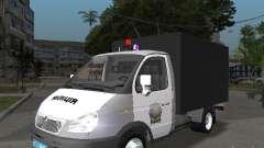 GAZ 3302 polícia