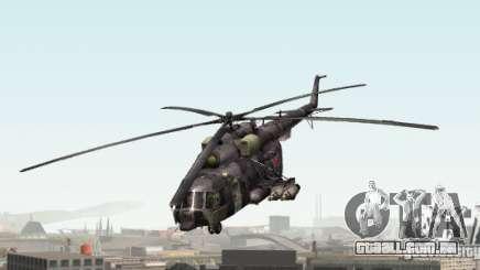 MI-8 Camo cinza para GTA San Andreas